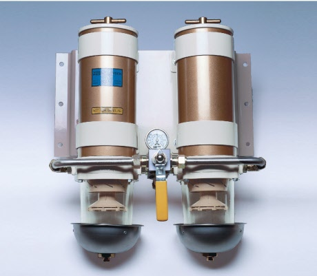 Fuel filter/water separator - twin,.. - image