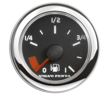 Fuel tank level instrument - image
