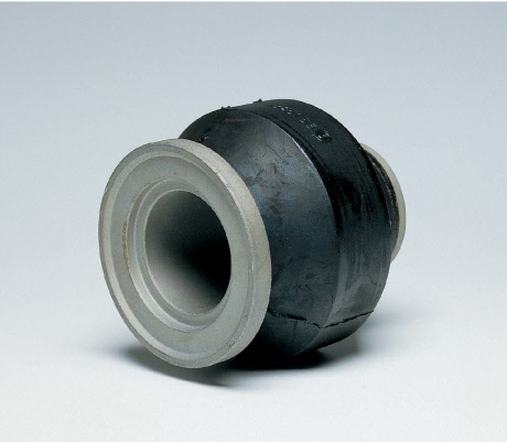 Rubber bushing - front - image