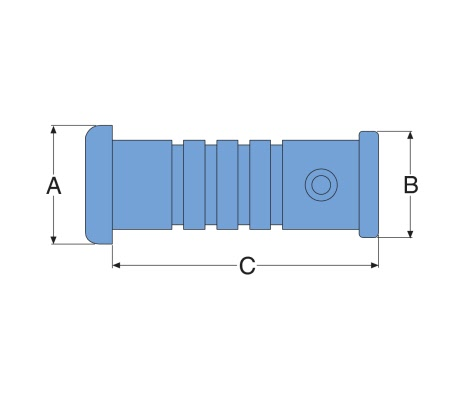 Stern bearing for plastic bonding - image